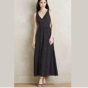 Anthropologie Eva Franco Clipdot Maxi Dress 6